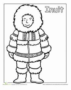 eskimo drawing Gallery
