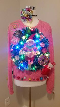 1000+ images about Tacky Christmas sweater/door