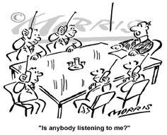 Effective communication, Communication and Cartoon on