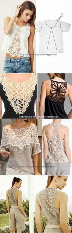 Идеи переделок одежд