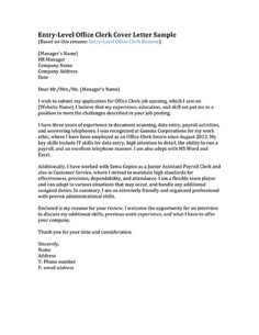 Letter sample Cover letters and Letters on Pinterest