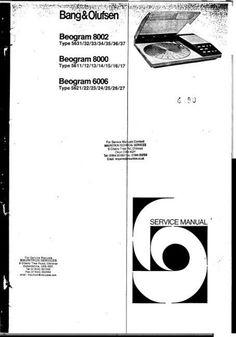 Bang & Olufsen Beocenter-2 Type Master Unit 2802 Type