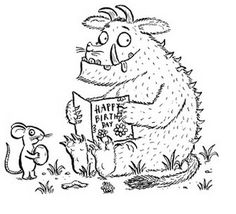 Twinkl Resources >> The Gruffalo Full Page Borders