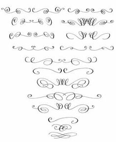 Calligraphy, Swirls and Google search on Pinterest