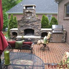 Outdoor Fireplace Kits on Pinterest  Menards Electric Fireplace Mantels Direct and Asics Women