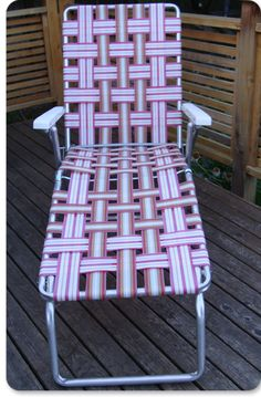 1000 images about Weaving lawn chairs on Pinterest  Lawn