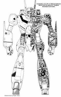 MADOX-01 by Studio Nue concept art, has more of a heavy