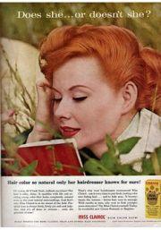 vintage clairol ads