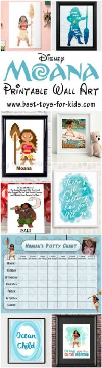 Beautiful Disney Moana Bedroom Decor for Sweet Princess ...