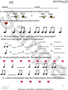 Great idea for Music Lesson Plan template...typical