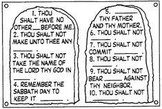 Ten commandments, Kid and House rules on Pinterest
