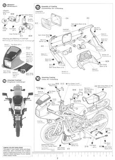 1000+ images about Tamiya 1/12 Honda VF750F on Pinterest