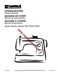 Janome, Sewing machines and Manual on Pinterest