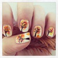 Michigan State nail art designs   Fashion   Pinterest ...