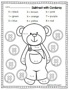 1000+ images about Subtraction Activities on Pinterest