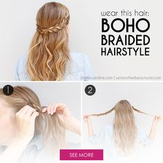 DIY Beauty Tutorials My Top 15 Spring Summer Boho Hairstyles For