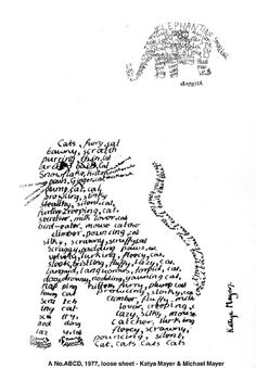 TILE-SIG Feature: Concrete Poetry as a Way to Enhance