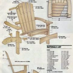 Adirondack Chair With Ottoman Plans Leather Slipper Side Elevation Plan Of Cape Cod Aka | Fauteuils Pinterest ...