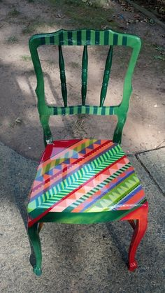 1000 Images About Chair Art On Pinterest Painted Chairs