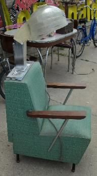 Vintage pink beauty shop dryer chairs | Mom, Large and ...