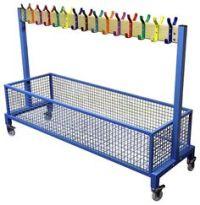 portable coat racks with hooks | mobile coat rack on ...