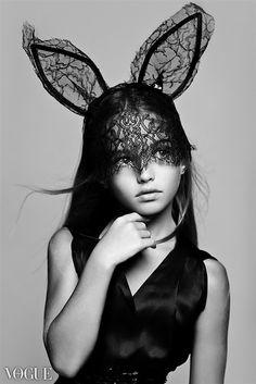 Chic bunny ears #vog