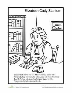 1000+ images about #36 Elizabeth Cady Stanton on Pinterest