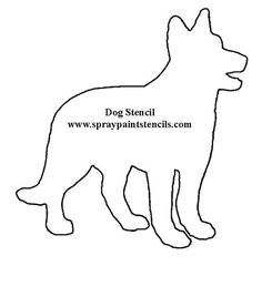 Dog face pattern. Use the printable outline for crafts