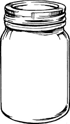 Free printable Mason Jar...lots of ideas for how to fill