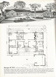 1000+ images about vintage house plans on Pinterest