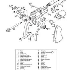 Ruger Ar 15 Exploded Diagram Hot Water Cylinder Thermostat Wiring Ak47 | Gun Diagrams And Parts Pinterest