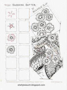 Zentangle is an easy to learn method of creating beautiful