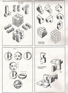 key 9 solutions wooden puzzles solution 3D brain teasers
