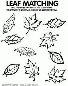 NO PREP Fall Cut and Paste Kindergarten Math Worksheets