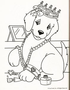 Coloring, Coloring pages and Cute dogs on Pinterest