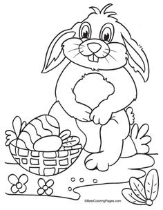 1000+ images about Easter Coloring Pages on Pinterest