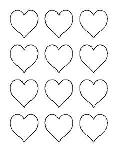 7 inch circle pattern. Use the printable outline for