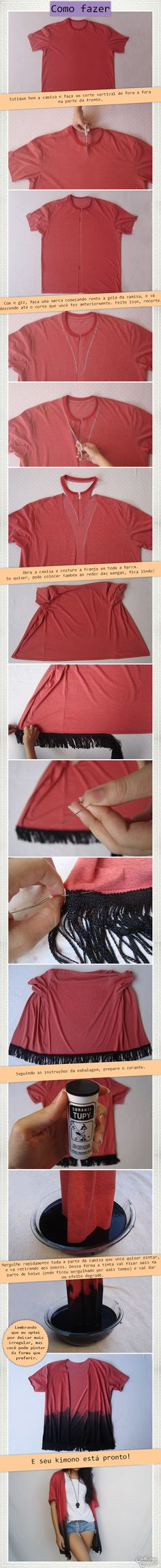 DIY Kimono | DIY Fas
