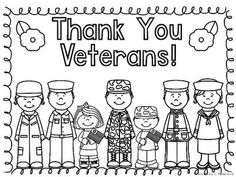 Cards for kids, Veterans day and Veterans day thank you on