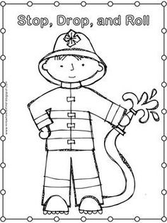 Emergency Coloring Pages Preschool Coloring Panda Fire