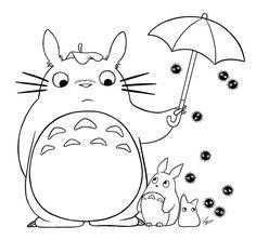 Manga Fargelegging for barn. Tegninger for utskrift og