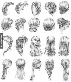 Behance Art ✏✒ Pinterest Haare Zeichnen Zeichnen Und Haar