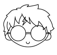 potter harry drawing glasses easy drawings snitch cookie cutter ron weasley golden getdrawings google