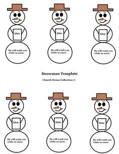 Free Christmas Snowman