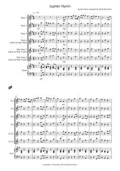 Eine Kleine Nachtmusik (f.score) sheet music for flute