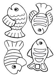 Outline Aquarium Coloring Pages Template 1 Fish Bowl Here