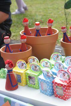 In The Night Garden Birthday Party Ideas Gardens Dessert Buffet