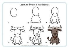 From The Heart Up.: FREE learn to draw printables