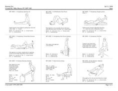 1000+ images about Physical Therapy Back Exercises on