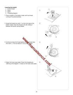 Pfaff 1196-1197-1199-1209 Sewing Machine Manual. 15 pages
